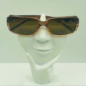 Guess GU6104P Brown Oval Sunglasses Frames